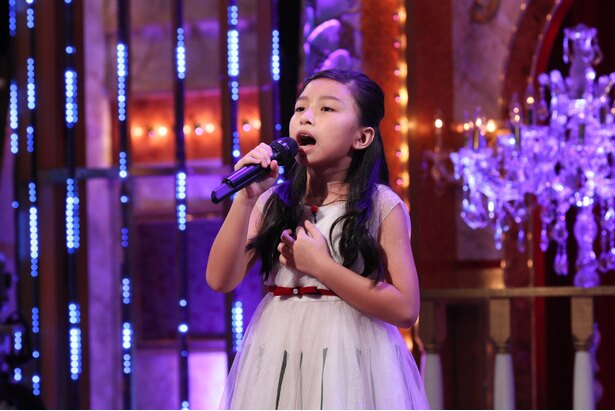セリーヌ・タムちゃんが歌う姿をアップした動画の再生回数は4400万回を超える