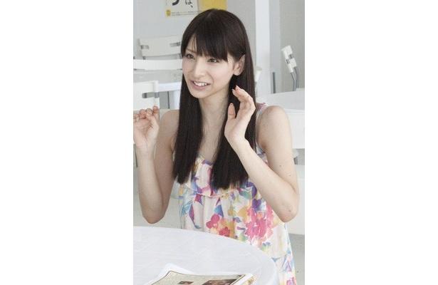 日本テレビのイメージガール「日テレジェニック2010」の伊藤れいこ(21)