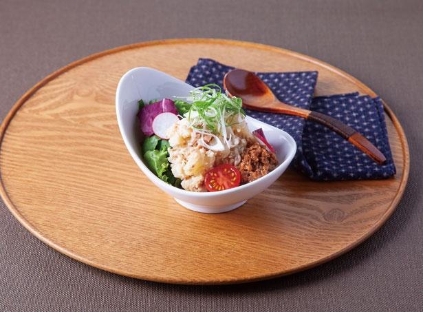 サラダも食べ放題/いちばん地鶏 阪急ターミナルビル店