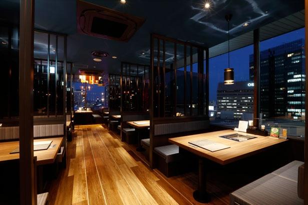 ほとんどの部屋が半個室/いちばん地鶏 阪急ターミナルビル店