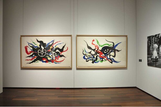 「芸術は呪術だ」と宣言した1960年代の太郎の作品群も展示