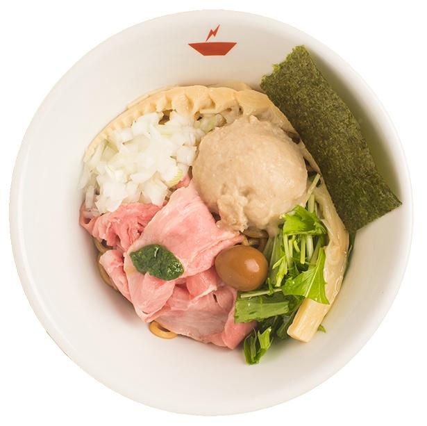 蟹油そば(850円)