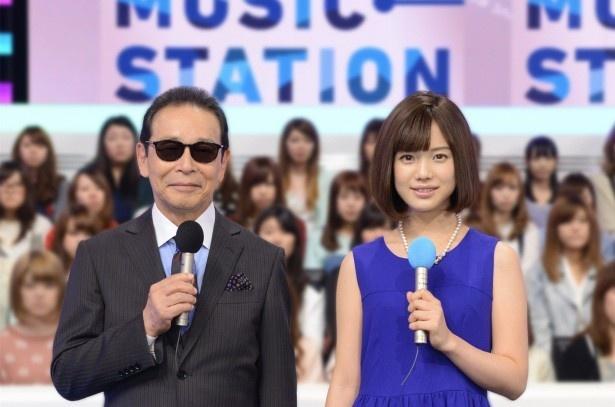 【写真を見る】5年にわたって番組を盛り上げた弘中綾香アナもこれが最後の「Mステ」の舞台
