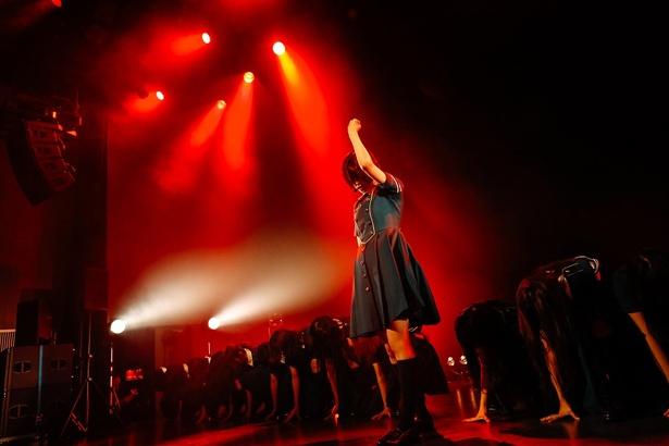 """""""聖地""""で「サイレントマジョリティー」を熱唱した欅坂46"""