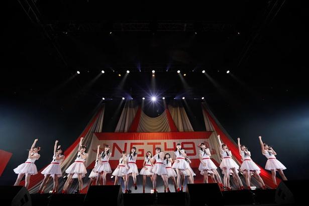 NGT48が日本武道館で新曲発売イベントを実施した