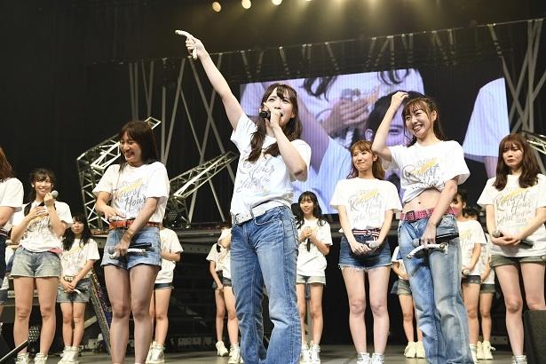 「SKE48 リクエストアワー セットリストベスト100 2018―」初日夜公演で松村香織が卒業を発表