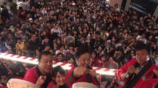 「京都国際マンガ・アニメフェア(京まふ)2018」で開催された「名探偵コナン紅の修学旅行編」のスペシャルステージより