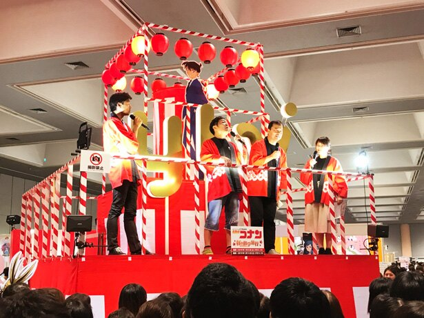 山口勝平と諏訪道彦エグゼクティブプロデューサーが、「名探偵コナン紅の修学旅行編」に対する意気込みを語る!