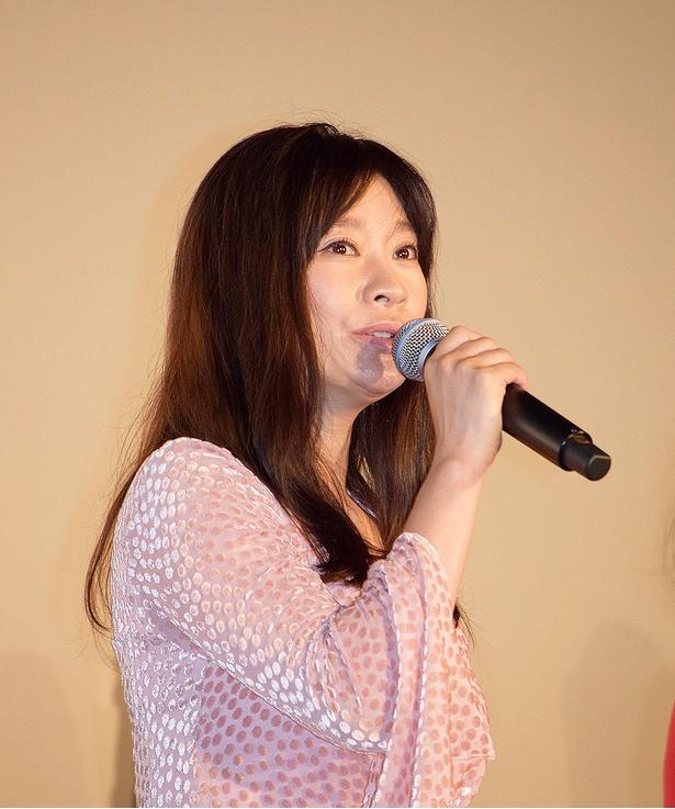 篠原涼子が作品の見どころを明かす