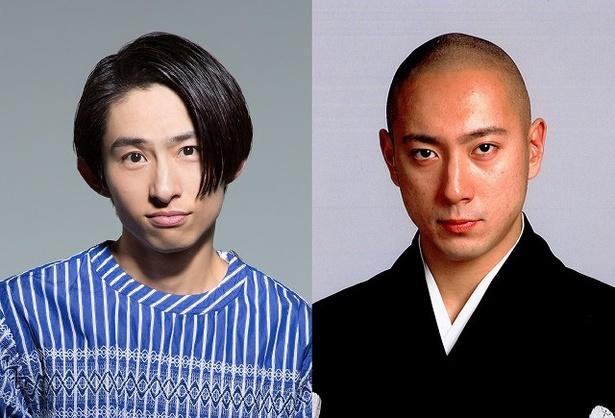 六本木歌舞伎第3弾「羅生門」で共演する市川海老蔵・三宅健