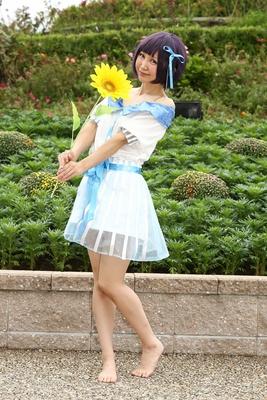 「Tokyo 7th シスターズ」の荒木レナに扮したチョリさん