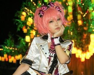 「アイドルマスターシンデレラガールズ」の城ヶ崎美嘉に扮したあおさん