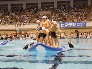 ポロリからガチ勝負まで!ボイメン、祭nine.、ボイメン研究生が男だらけの水泳大会でハジけまくり!
