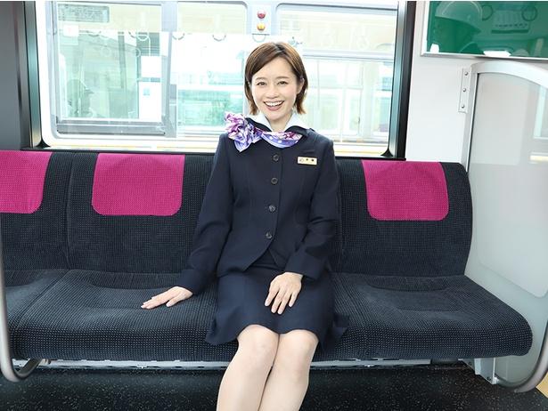 鉄道タレント・斉藤雪乃さんは「乗り心地が格段と上がりましたね」とコメント