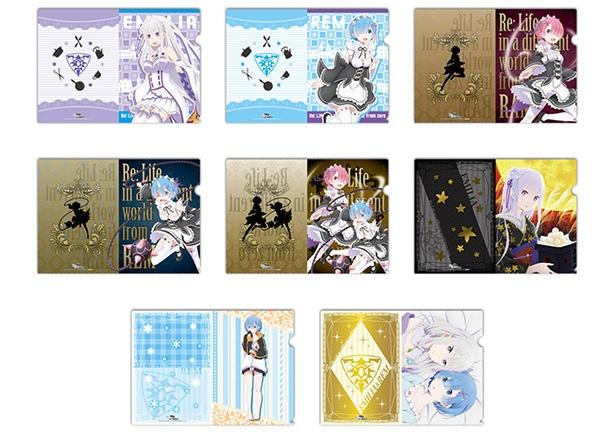 クリアファイルやポストカードの配布も!TVアニメ「リゼロ」のプライズがセガのアミューズメント施設に登場!