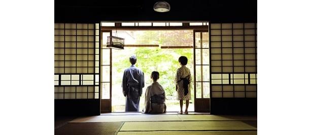 加瀬亮、中村ゆり、澁谷武尊(写真左から)が親子を演じた室生犀星原作の「後の日」