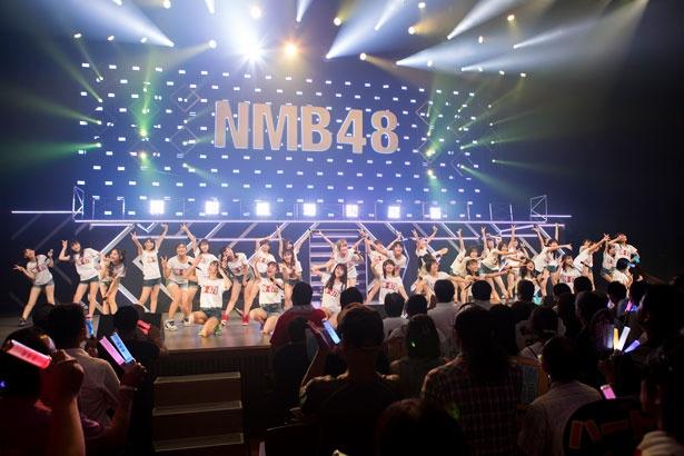 神戸国際会館でライブを行ったNMB48のU-19メンバー