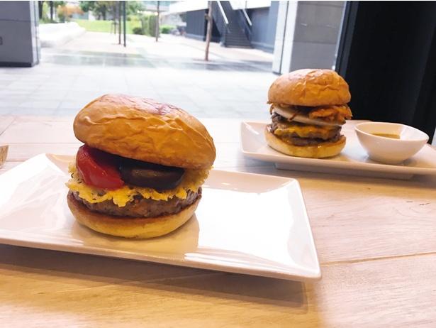 バーガーは全14種類と豊富なラインアップ