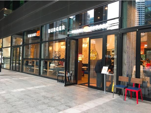 店舗はMMcruiseの1F。ガラス張りでスタイリッシュな雰囲気だ