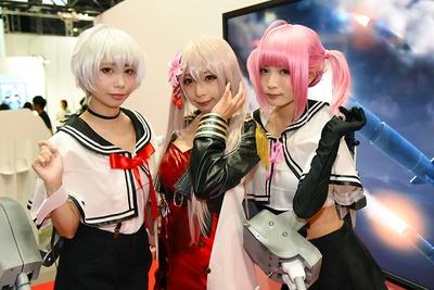 「東京ゲームショウ2018」で見つけた美人コンパニオンたち 7/30