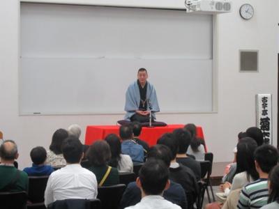春風亭柳朝さんによる落語会(画像は昨年の様子)