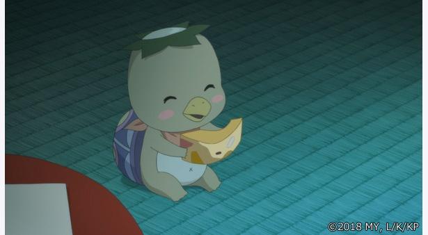 「かくりよの宿飯」第26話の先行カットが到着。葵が海坊主の声を聞き…