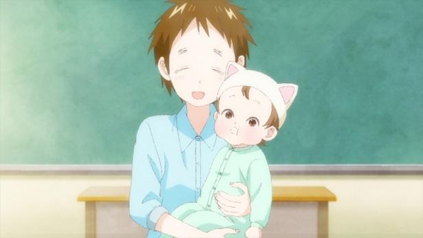「あそびあそばせ」第12話の先行カットが到着。赤ちゃんの匂いに歓喜した華子が!?