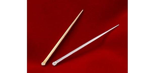 マインドアップ「快適甲斐 金の爪楊枝 Fuji」(5万2500円)と「銀の爪楊枝 Fuji」(1万5750円)
