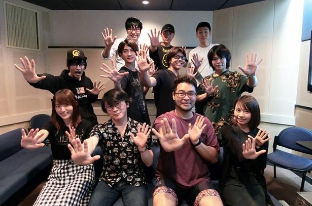 アニメ「火ノ丸相撲」、放送直前に向けてアフレコに挑むキャストたちが大集合!