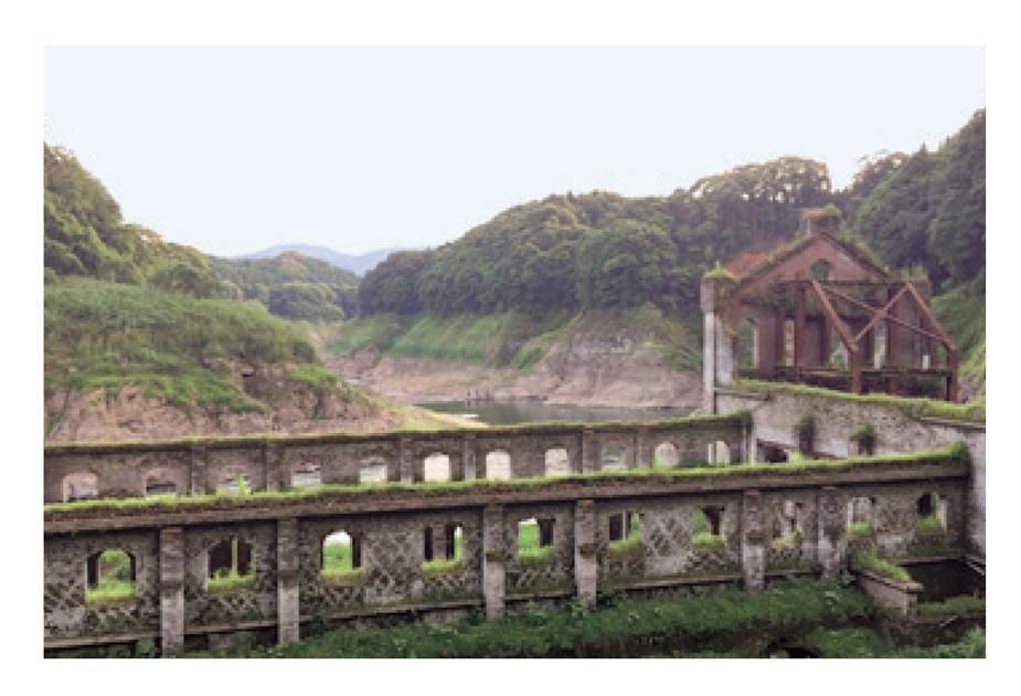 【写真を見る】伊佐市の曽木発電所遺構がリアルラピュタすぎる!?