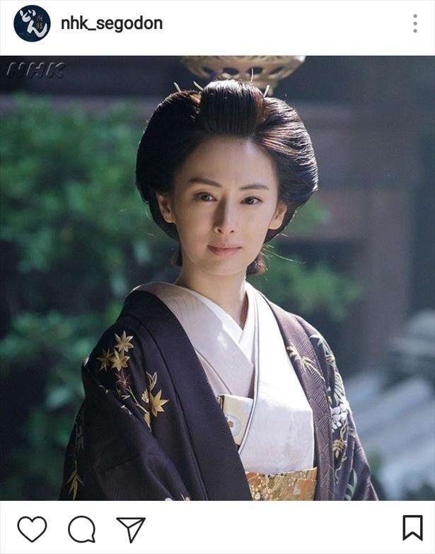 """【写真を見る】神々しいまでの美しさ!着物姿の北川景子""""篤姫""""!!"""
