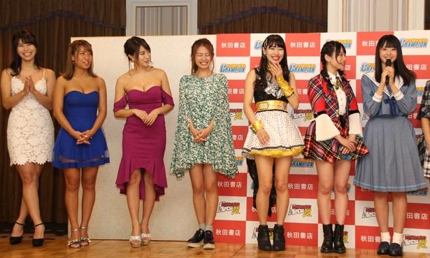 STU48・瀧野由美子の「目のやり場に困る」という発言でステージ上が和んだ