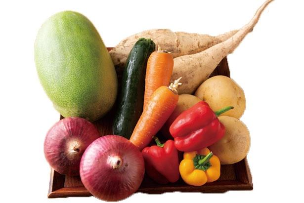 【写真を見る】こだわりの野菜/玄米&やさい食堂 玄三庵 OAP