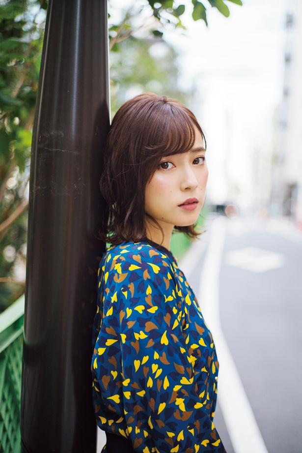 「文学処女」(TBSほか)では、原作にはないオリジナルキャラクターを演じる池上紗理依