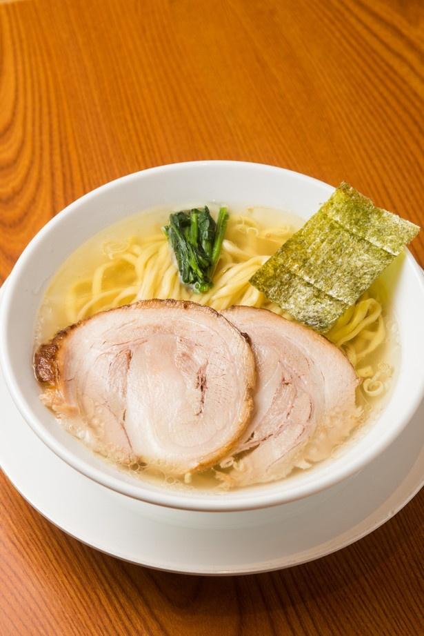 有名店のコラボ麺だから味は折り紙付き!「らぁめん 生姜は文化。」