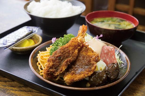 神戸で長く愛される味!創業50年の美味しさを守る「かつの店 きよし」のポートランチ定食