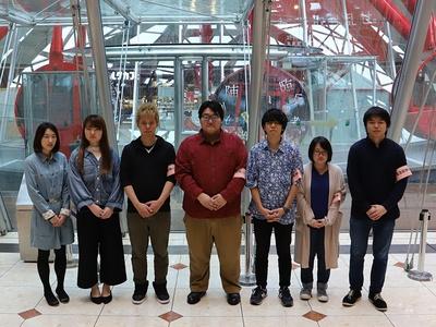 制作した大阪電気通信大学 総合情報学部 デジタルゲーム学科/ゲーム&メディア学科の皆さん