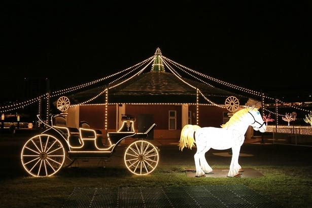 """本格的な電気時代の到来を告げた「内国勧業博覧会」を忠実に再現した""""明治アカリノ博覧会"""""""