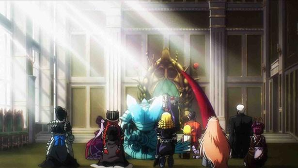 「オーバーロードIII」第13話の先行カットを公開。アインズが召喚した魔物たちが戦場を蹂躙!