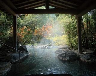 椎葉山荘 しいばの湯 / 奥山の大自然と共に露天を満喫