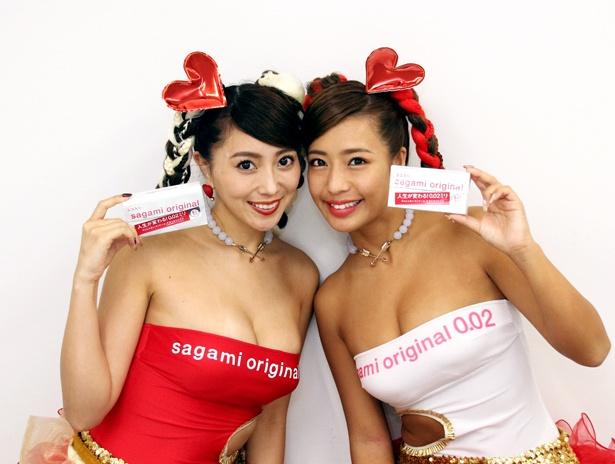 (写真左から)森咲智美、橋本梨菜がザテレビジョン編集部を来訪!