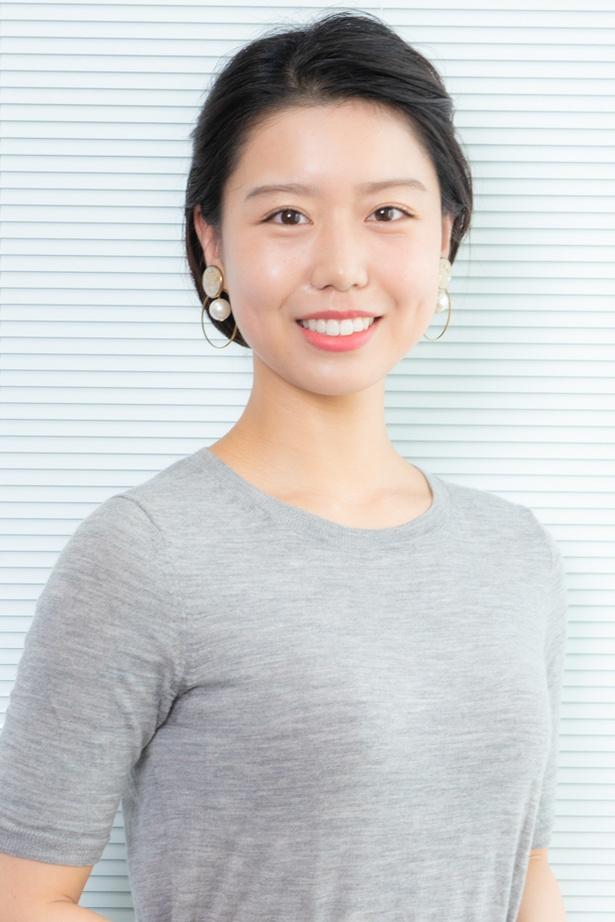 小川朝美さん(22歳)。重厚な作品が好みのドラマファン。「刑事七人」「遺留捜査」(ともにテレビ朝日系)では映像の質感などまで目を凝らし、世界観に浸っている。