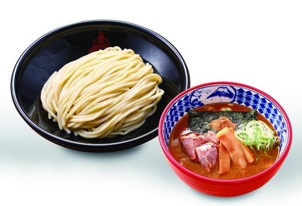 「三田製麺所 イオンモール津南店」の「濃厚豚骨魚介つけ麺(中)」(760円)