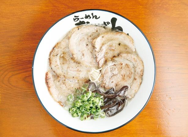 らーめん おいげん/「炙りチャーシュー麺」(800円)