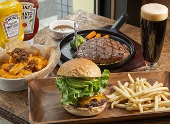 肉の旨味あふれるハンバーガーとクラフトビールの最強コンビを平塚で堪能!