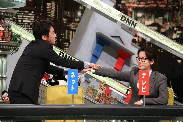 10月5日(金)放送の「全力!脱力タイムズSP」(フジテレビ系)にゲスト出演する堀内健、佐藤健
