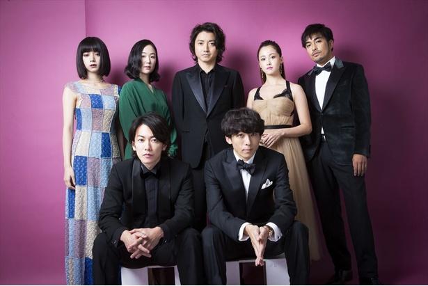映画「億男」に出演の7人による座談会!