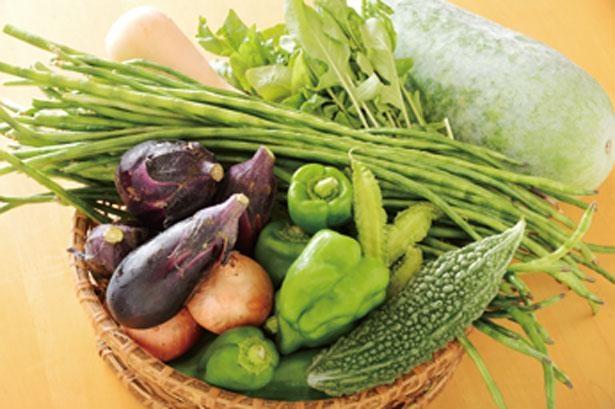 兵庫県多可町の実家でとれる豊富な野菜/ごはんや ももんち