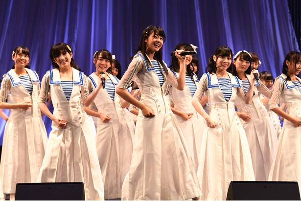 STU48が西日本豪雨支援活動「がんばろう!瀬戸内」チャリティーコンサートツアーの東京公演を開催