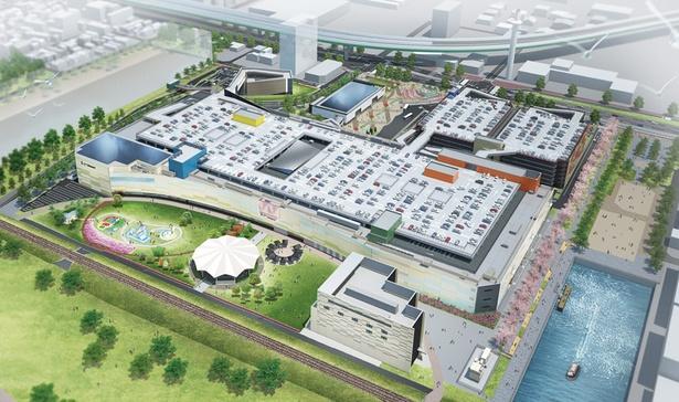 名古屋市港区の中川運河沿いに新しく誕生した「みなとアクルス」